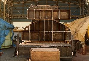 構造実験装置/耐火試験体